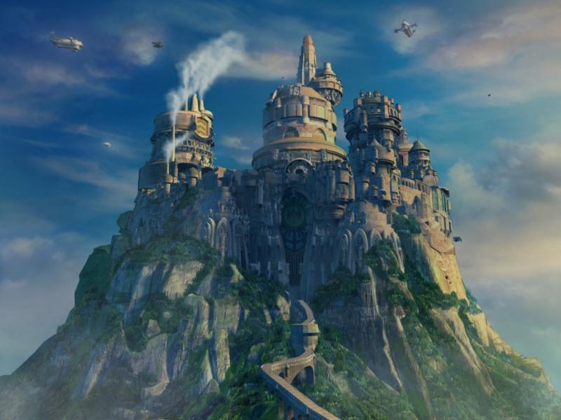 Wallpaper chateau Final Fantasy 9