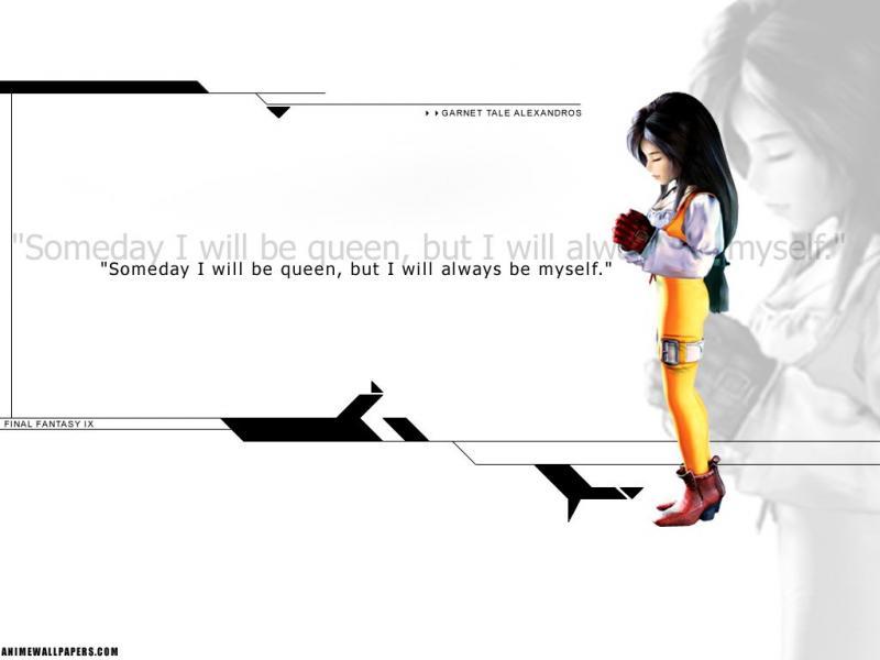 Wallpaper Final Fantasy 9 dagga