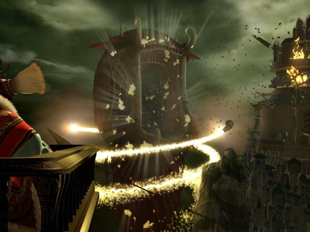 Wallpaper destruction Final Fantasy 9