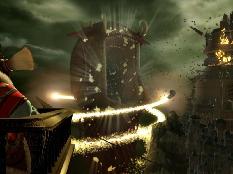 Wallpaper destruction Final Fantasy 9