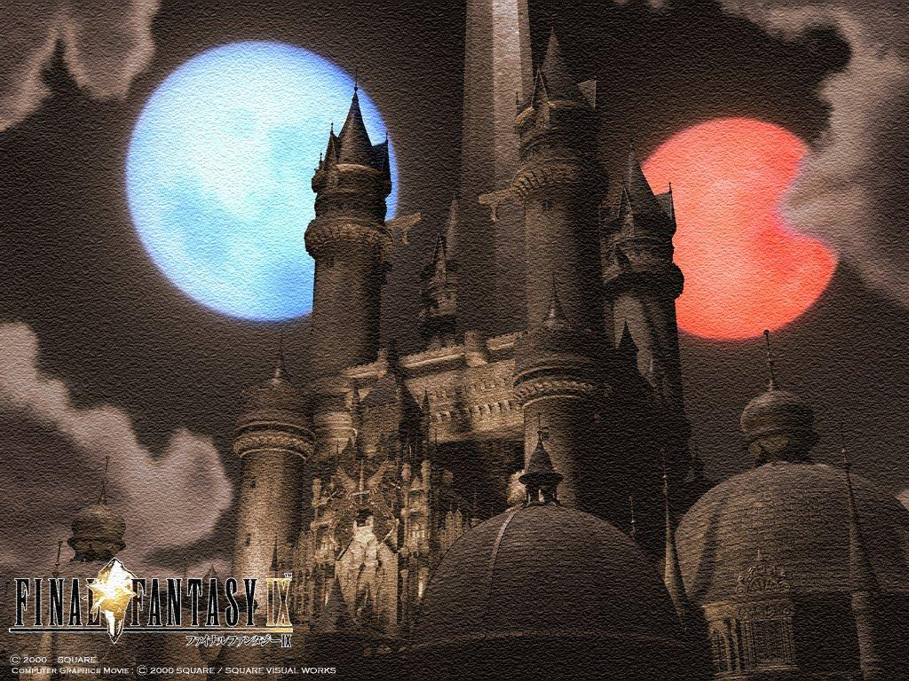 Wallpaper gande cite Final Fantasy 9