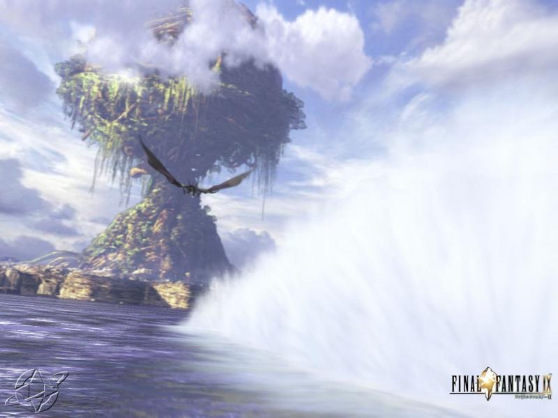 Wallpaper grand arbre Final Fantasy 9