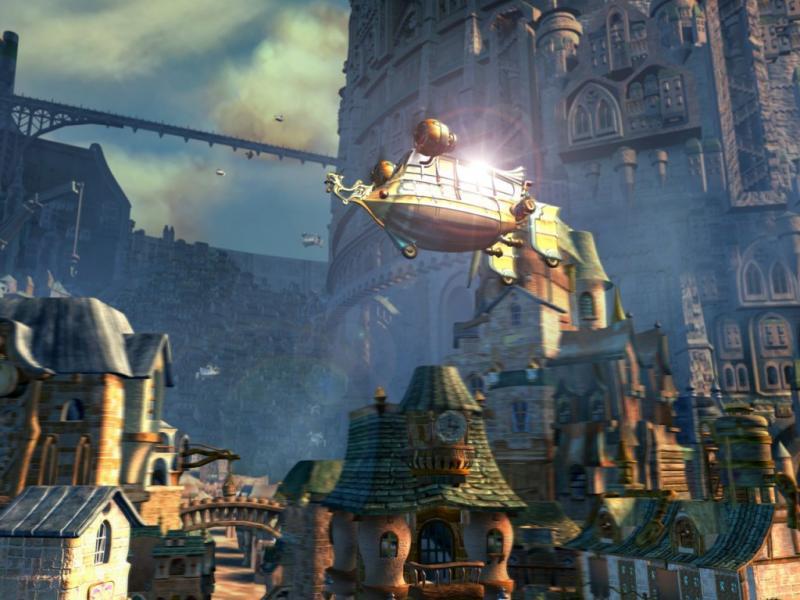 Wallpaper Final Fantasy 9 grande ville