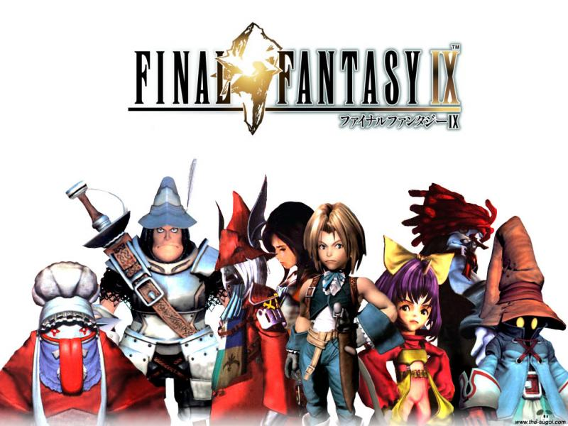 Wallpaper Final Fantasy 9 les personnages