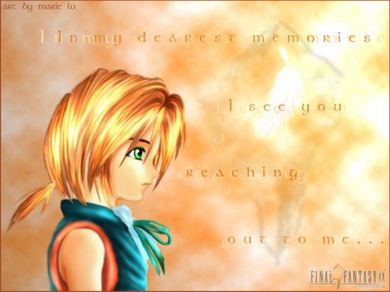 Wallpaper pensif Final Fantasy 9
