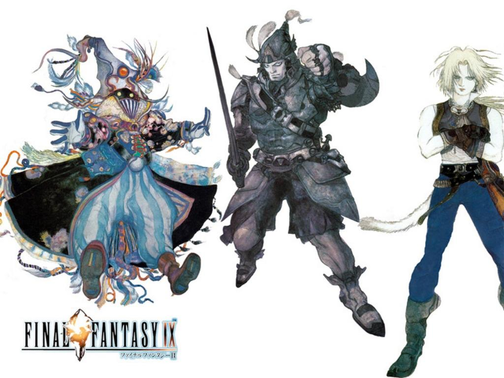 Wallpaper personnages Final Fantasy 9