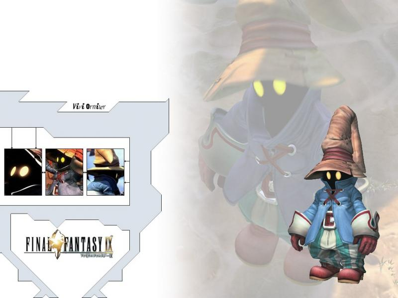 Wallpaper Final Fantasy 9 vivi