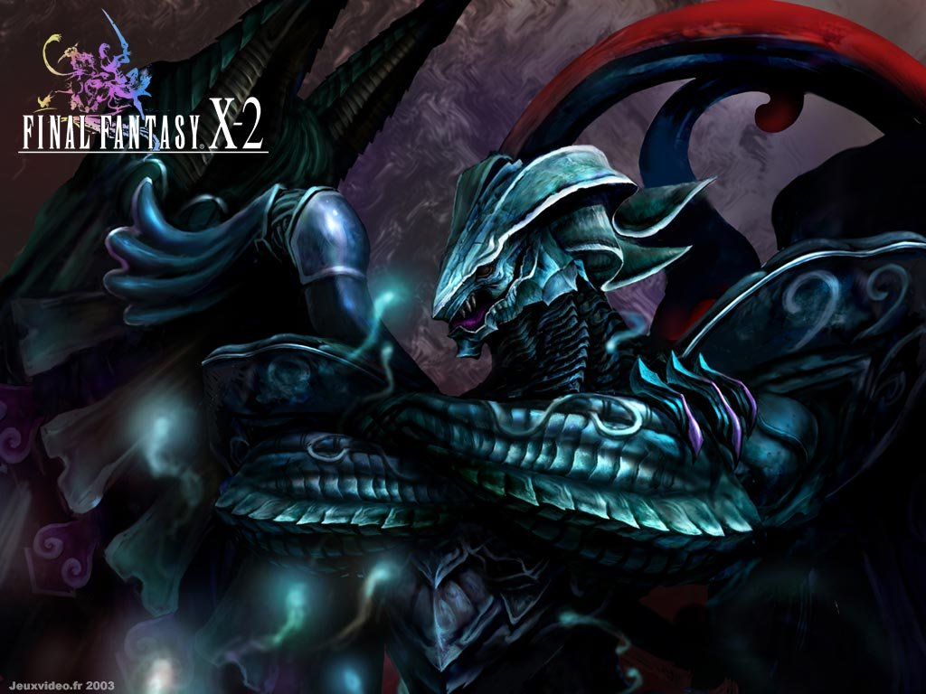 Wallpaper Final Fantasy X-2 chimere purgatrice