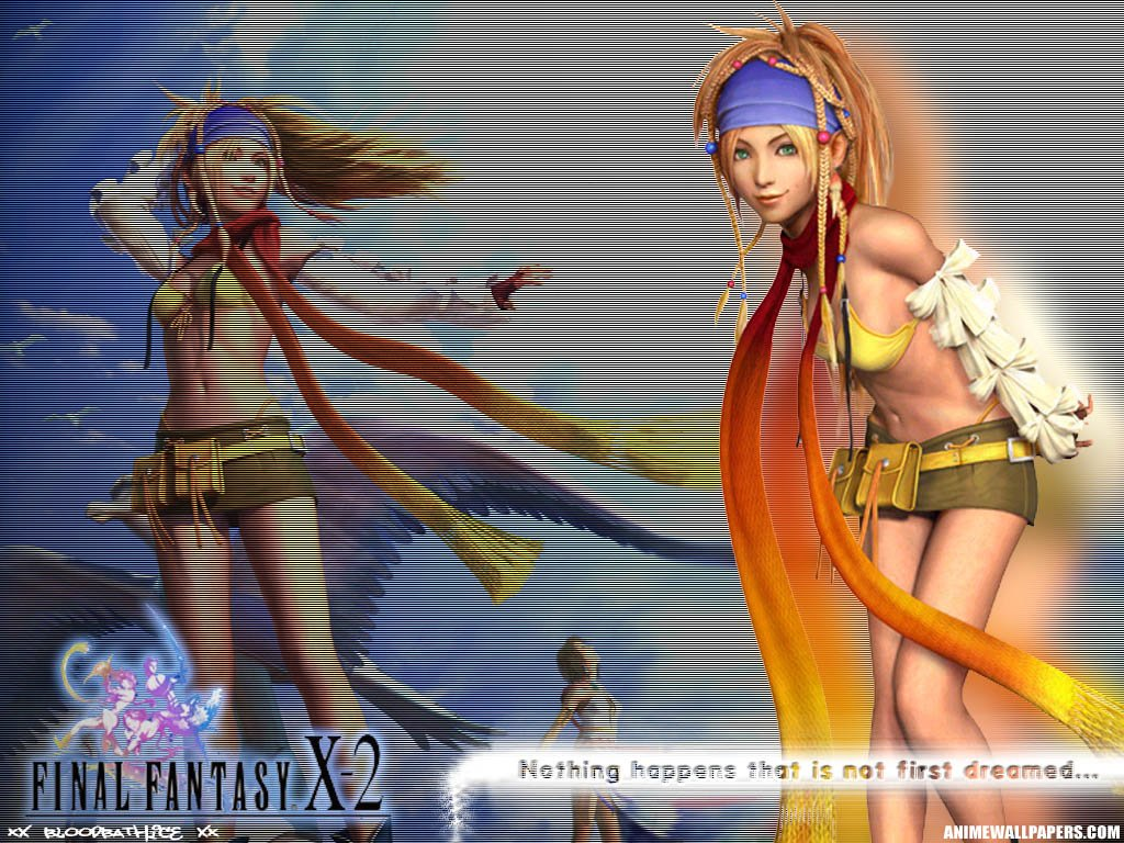 Wallpaper Final Fantasy X-2 rikku et yuna