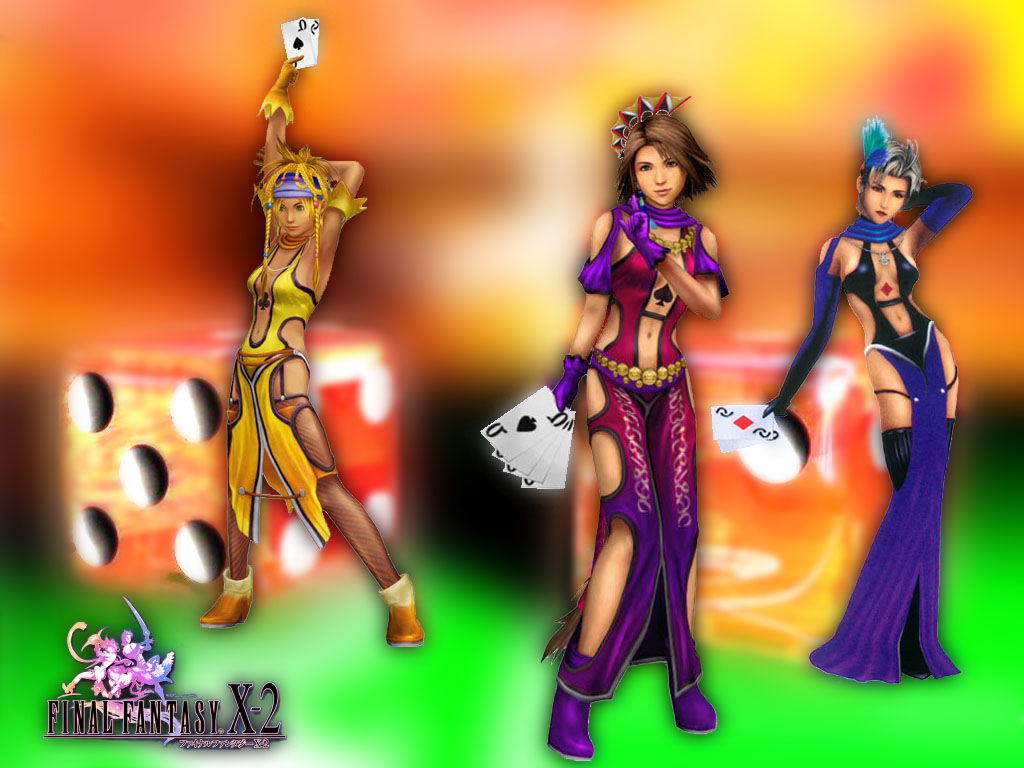 Wallpaper toute 3 Final Fantasy X-2