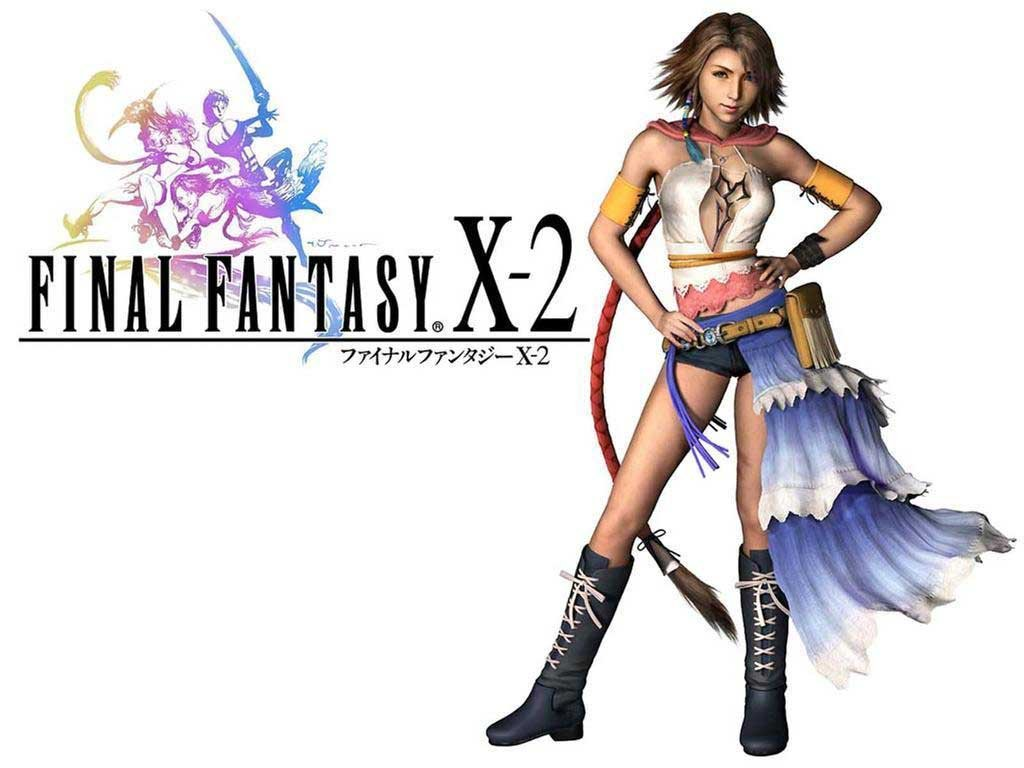 Wallpaper Final Fantasy X-2 yuna
