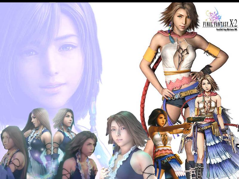 Wallpaper yuna Final Fantasy X-2