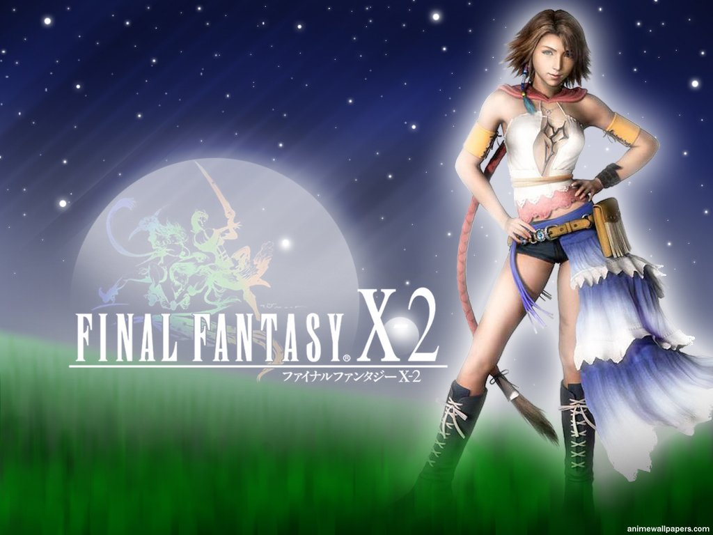 Wallpaper Final Fantasy X-2 yuna belle fille