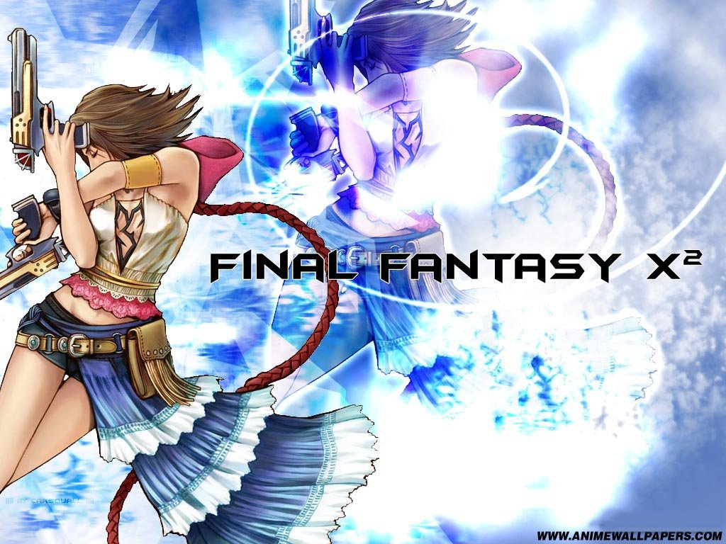 Wallpaper Final Fantasy X-2 yuna pistomancienne