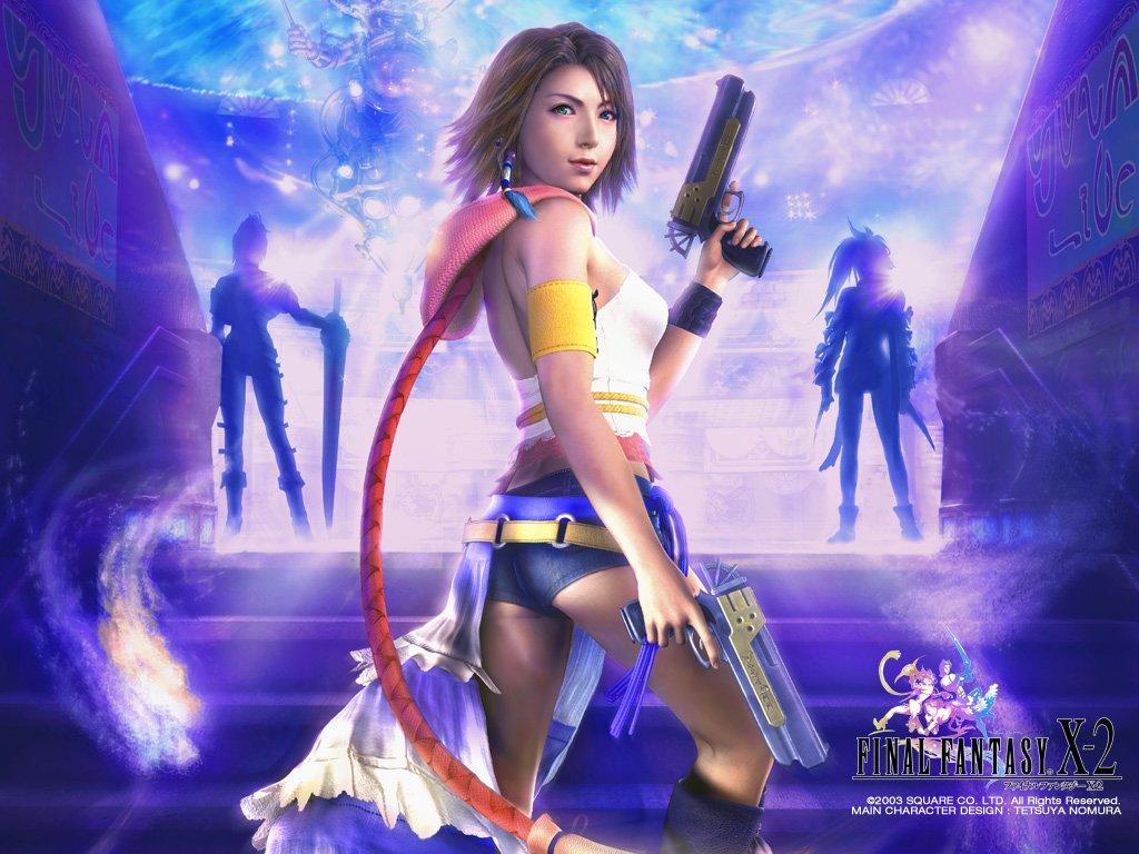 Wallpaper yuna rikku paine Final Fantasy X-2
