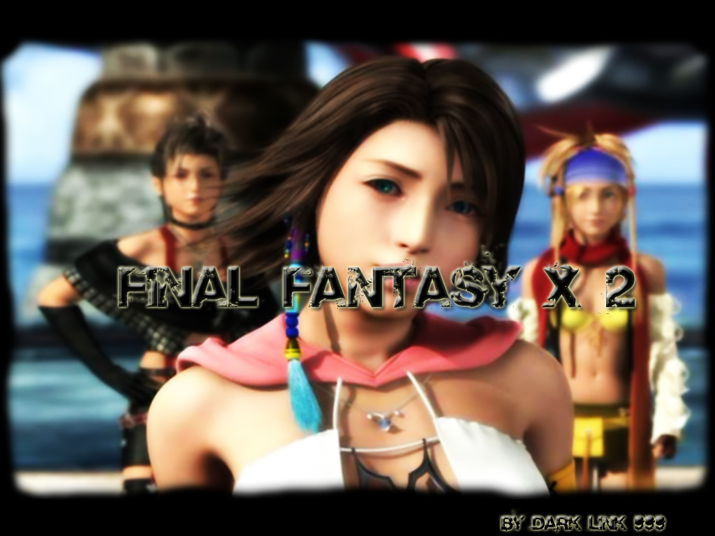 Wallpaper Final Fantasy X-2 yuna rikku paine