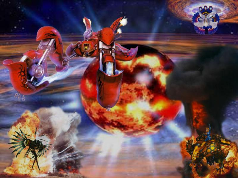 Wallpaper Final Fantasy X-2 le vaisseau