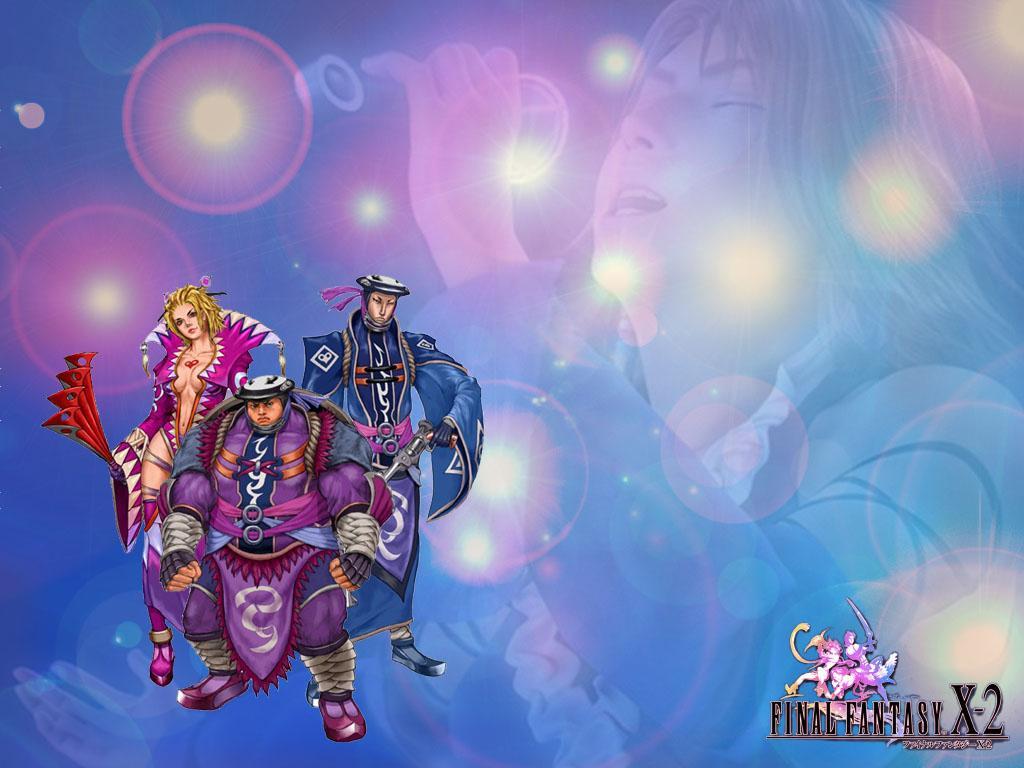 Wallpaper Final Fantasy X-2 leblanc uno sano