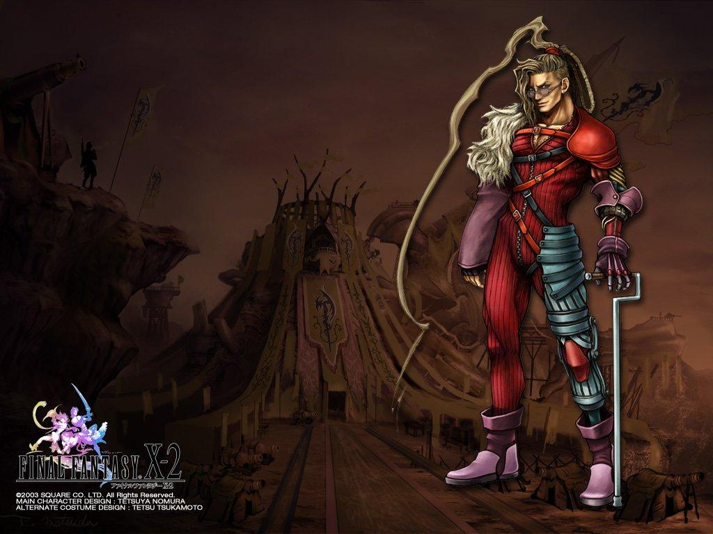 Wallpaper nooj Final Fantasy X-2