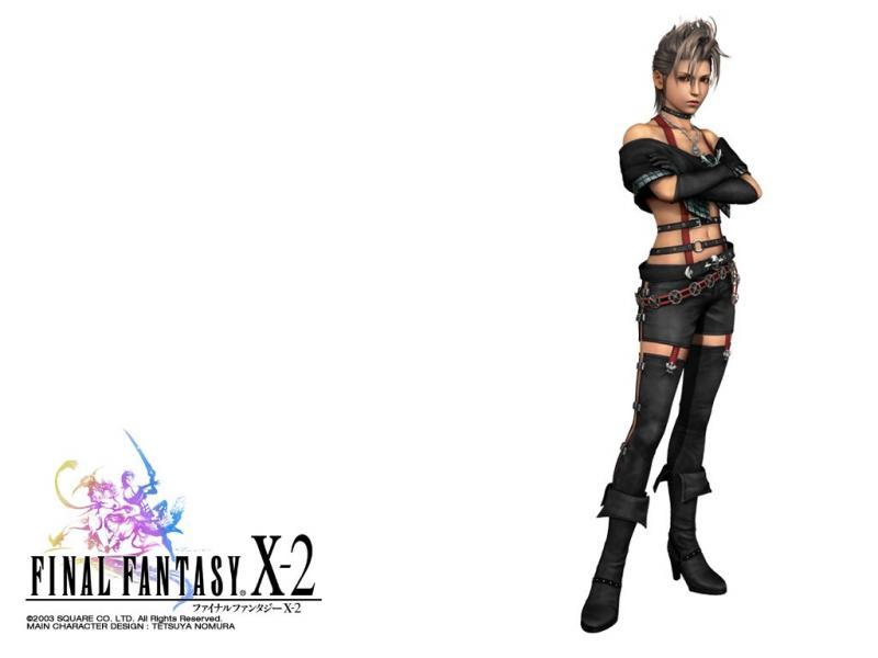Wallpaper Final Fantasy X-2 paine