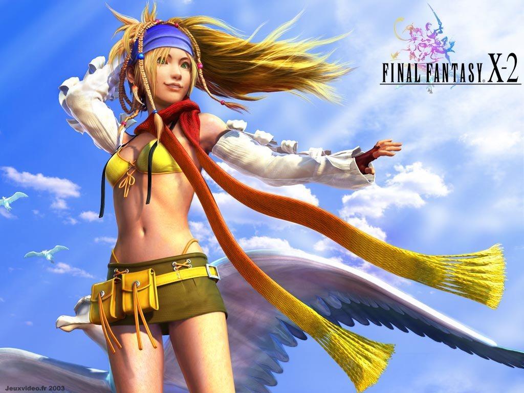 Wallpaper Final Fantasy X-2 rikku