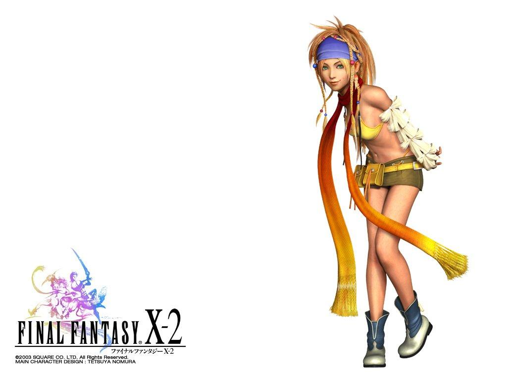 Wallpaper rikku Final Fantasy X-2