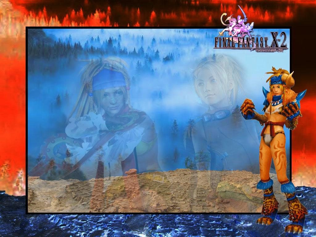 Wallpaper Final Fantasy X-2 rikku