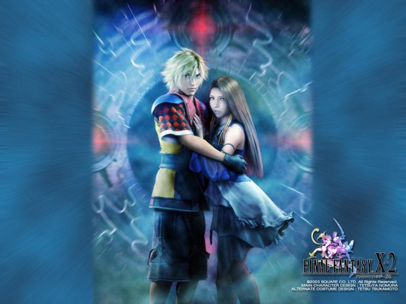 Wallpaper shuin et lenne Final Fantasy X-2