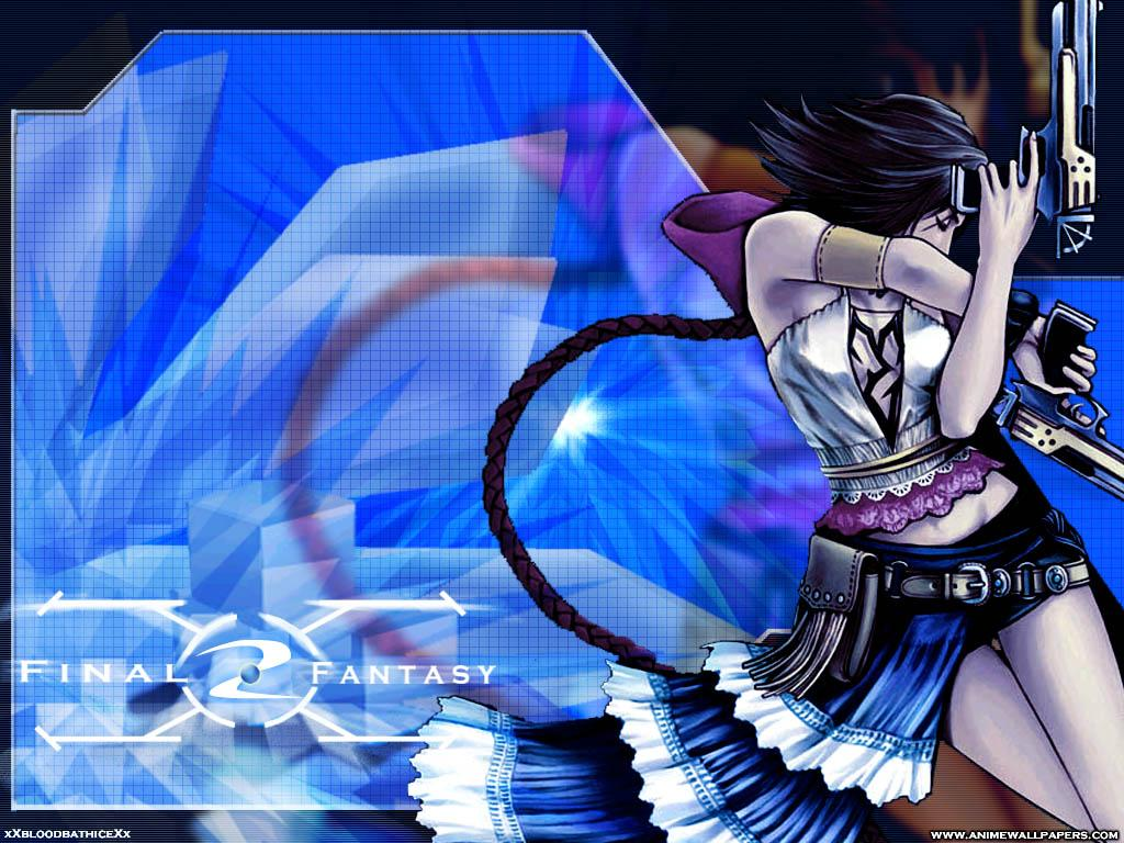 Wallpaper Final Fantasy X-2 yuna