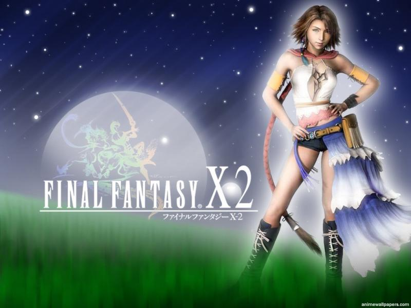 Wallpaper yuna belle fille Final Fantasy X-2