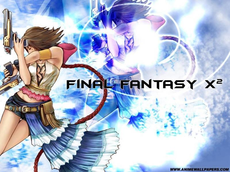 Wallpaper yuna pistomancienne Final Fantasy X-2