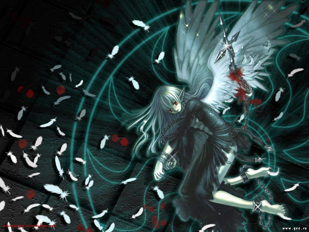 Wallpaper Art Manga ange