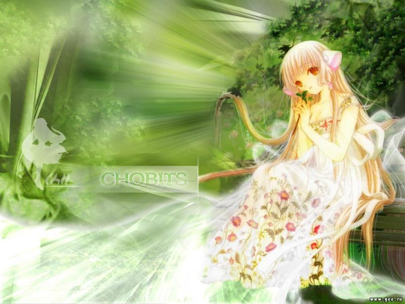 Wallpaper belle fille Chobits