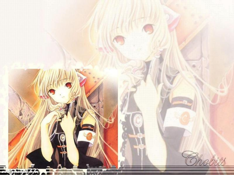 Wallpaper Chobits belle fille