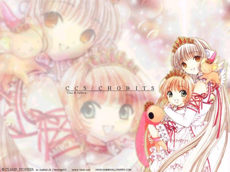 Wallpaper Chobits jolie filles