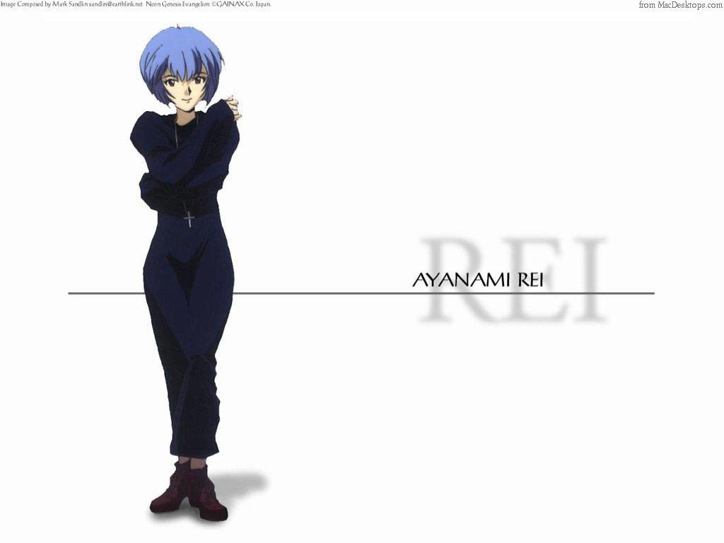 Wallpaper ayanami rei Evangelion