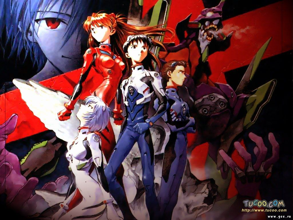 Wallpaper les guerriers Evangelion