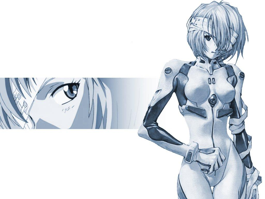 Wallpaper Evangelion rei