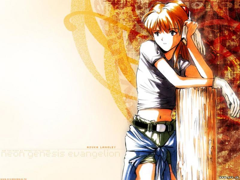 Wallpaper asuka Evangelion