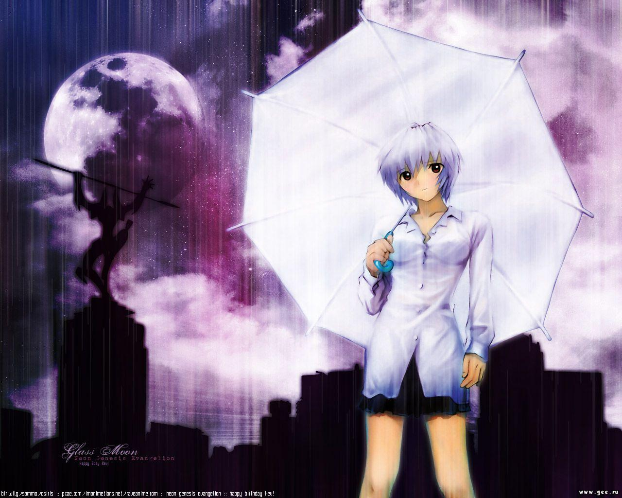 Wallpaper rei Evangelion
