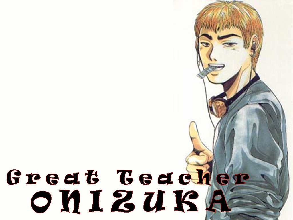 Wallpaper GTO the great teacher onizuka