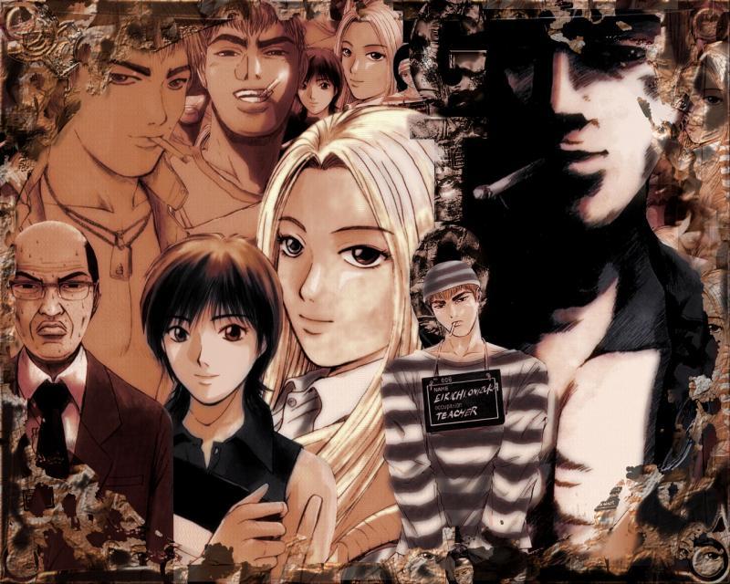 Wallpaper the great teacher onizuka GTO