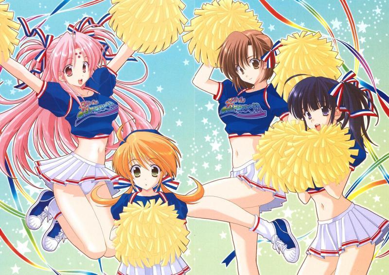 Wallpaper jolie filles Girls Bravo