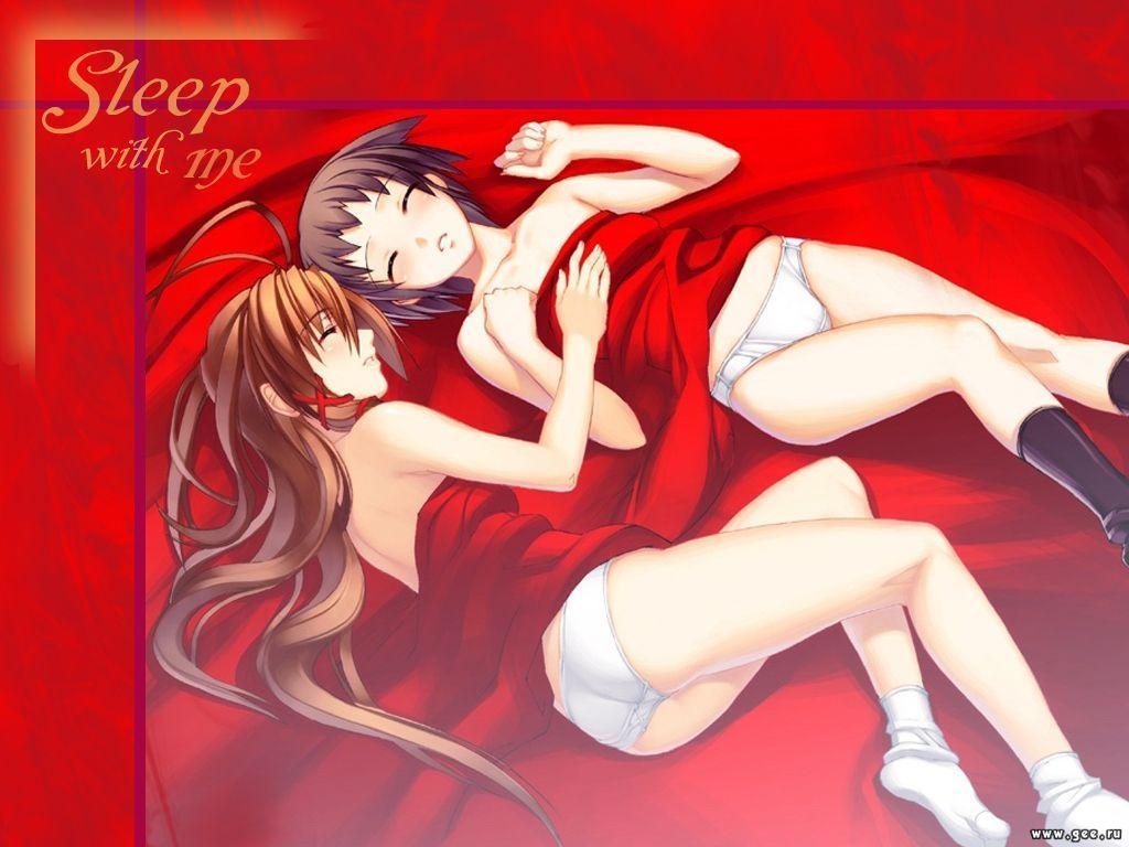 Wallpaper dort avec moi Gouine