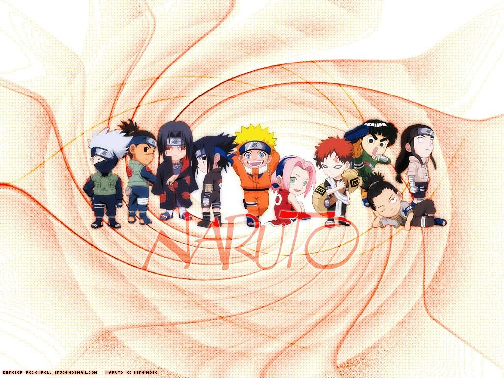 Wallpaper Manga Naruto anime personnages