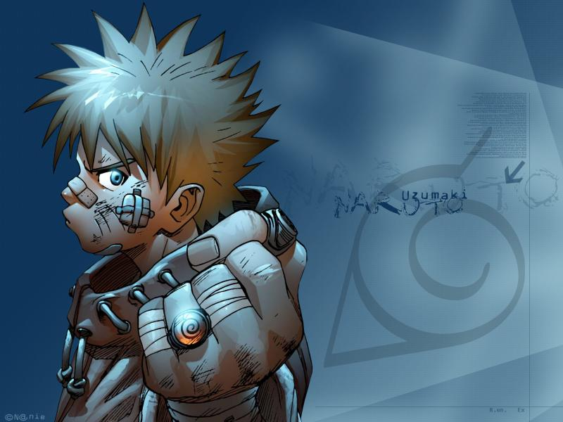 Wallpaper Manga Naruto naruto uzumaki