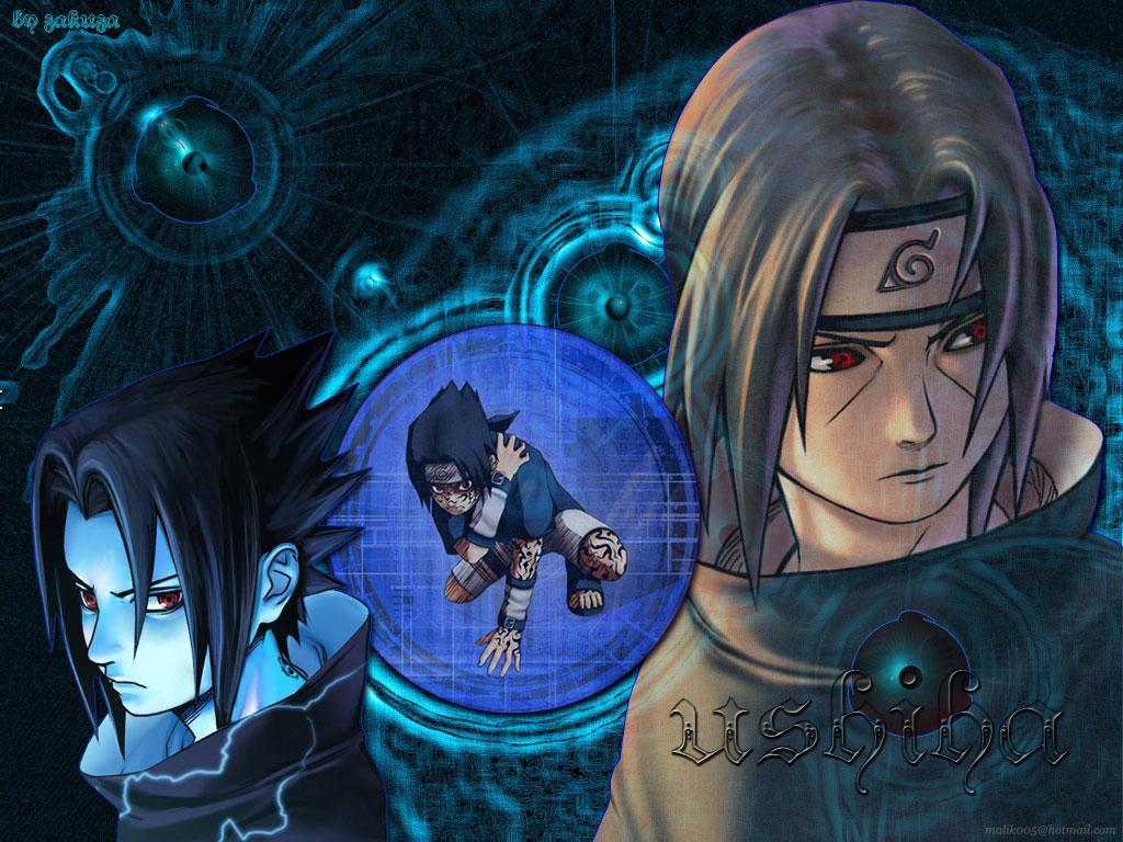 Wallpaper Manga Naruto sasuke uchiwa