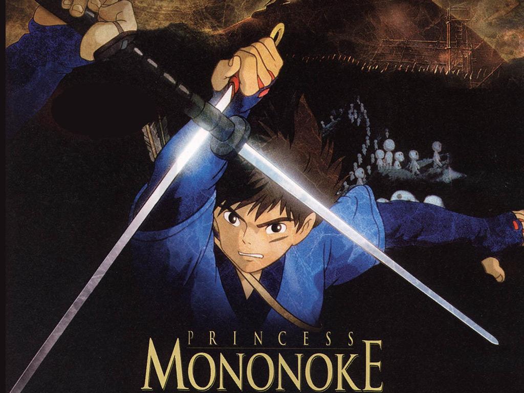 Wallpaper Mononoke Ashitaka