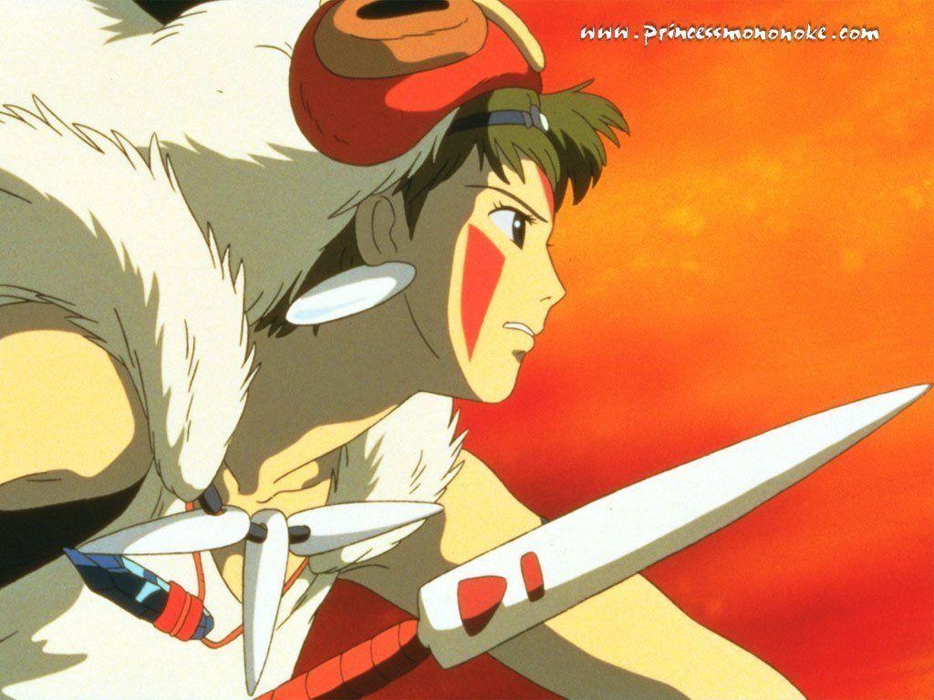 Wallpaper Mononoke San
