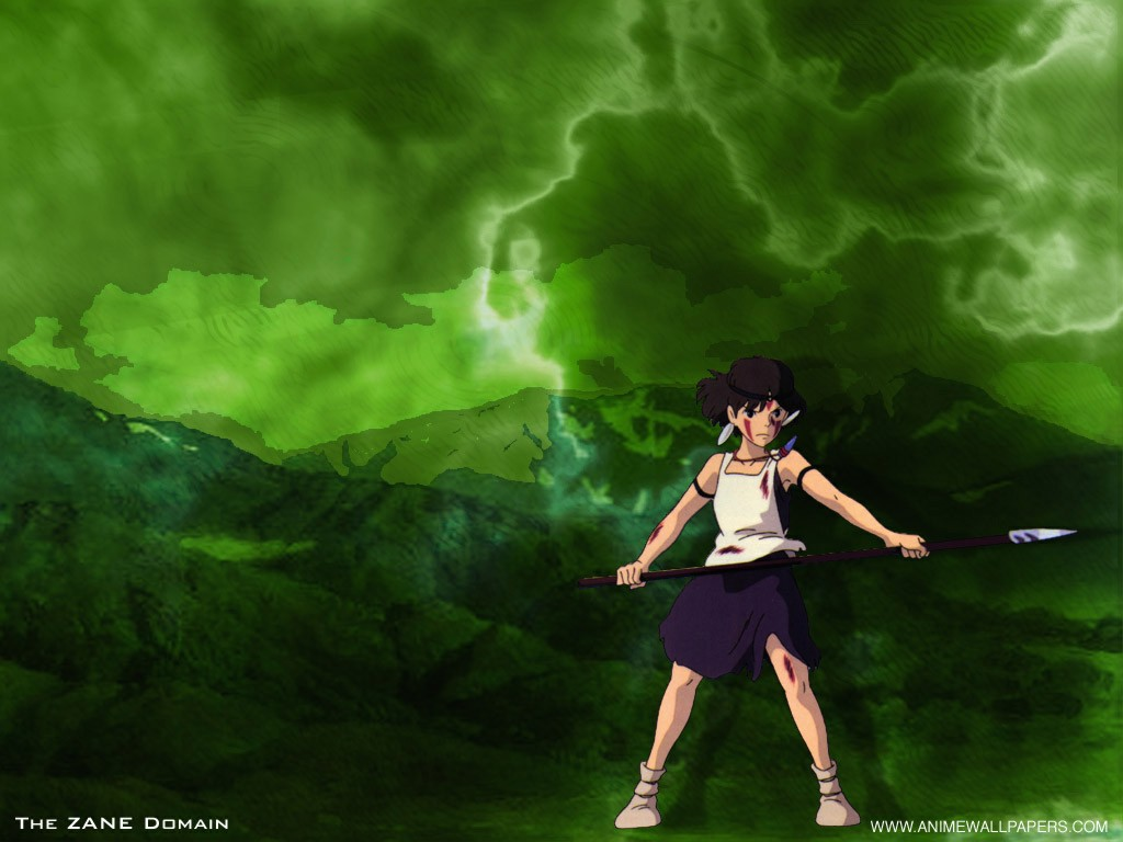 Wallpaper la demone Mononoke